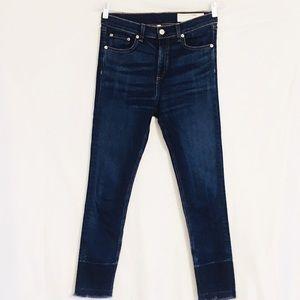 """rag & bone Jeans - Rag & Bone 10"""" Inch Capri Denim Jeans size 29"""